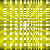 stock photo of brighten  - Ray checkerboard theme green background - JPG