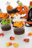 Постер, плакат: Halloween Cupcakes