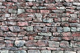 foto of slab  - Stone wall closeup - JPG