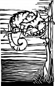 picture of alice wonderland  - Cheshire Cat from from Lewis Carroll - JPG