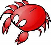 picture of googly-eyes  - Crab Cute friendly cartoon marine creature hand - JPG