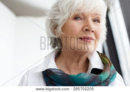 Age Maturity Beauty Style And