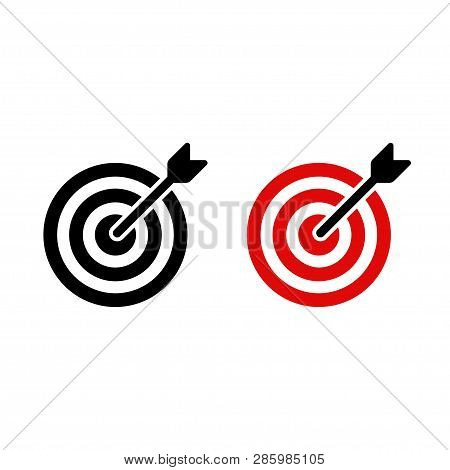 Target Icon With Arrow Shot