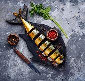 Smoked Fish Mackerel poster