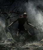 Nightmare With Bogeyman,boy Enter To The Haunted Forest In His Dream And Discover A Mythical Creatur poster