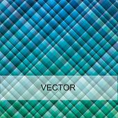 VECTOR - Blue Green Fabric Material Background - Attractive & Rich of This Two Colors - More than 10
