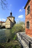 pic of regnitz  - Old Town Hall Bamberg - JPG
