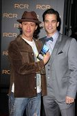 Clifton Collins Jr., Johnathon Schaech at the