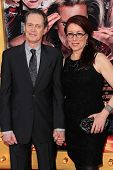 Steve Buscemi and Jo Andres at the World Premiere of