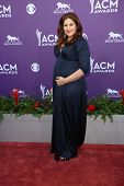 Hillary Scott at the 48th Annual Academy Of Country Music Awards Arrivals, MGM Grand Garden Arena, L