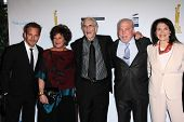 Stephen Dorff, Lainie Kazan, Martin Landau, Stacy Keach, Sherry Lansing at the  27th Israel Film Fes