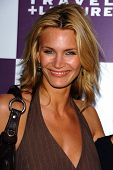 WESTWOOD - APRIL 19: Natasha Henstridge at the 35th Birthday Celebration for Travel and Leisure Maga