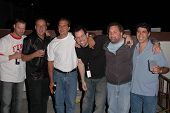 K.C. Armstrong, Reverend Bob Levy, Nick Di Paolo, Craig Gass, Artie Lange and Gary Dell'Abate  at th