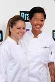 Brooke Williamson and Kristen Kish at the Bravo Media's 2013 For Your Consideration Emmy Event, Leon