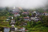 picture of ifugao  - Village Banaue northern Luzon Ifugao province Philippines - JPG