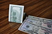 stock photo of twenty dollars  - One - JPG