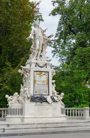 image of mozart  - Vienna - JPG