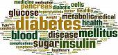 pic of sick kidney  - Diabetes Word Cloud Concept - JPG