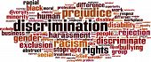 picture of racial discrimination  - Discrimination Word Cloud Concept - JPG
