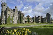 Постер, плакат: Знаменитый замок Эшфорд графстве Мейо Ирландия