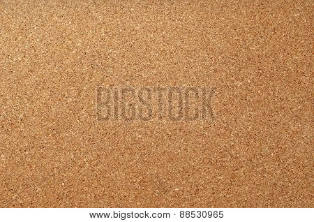 Empty cork notice board texture and background