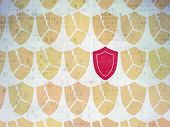 stock photo of shield  - Protection concept - JPG