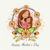 stock photo of special day  - Happy cute mother with her daughter - JPG
