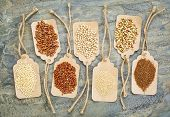 picture of quinoa  - abstract of healthy - JPG