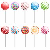 pic of lollipop  - Lollipops collection - JPG