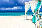 pic of wedding arch  - beach wedding venue - JPG