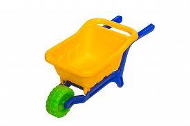 pic of dumper  - Toy 3 wheel 3 color small dumper - JPG