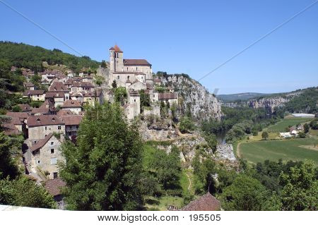Picture or Photo of The medieval village of st. cirque la popie, france
