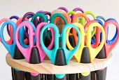scissors - colorful school and office supplies