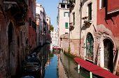 Постер, плакат: Один из многочисленных каналов Венеции Италия