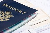 picture of passport cover  - Travel documents - JPG
