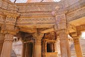 Adalaj Stepwell Is A Hindu Building In The Village Of Adalaj Near Ahmedabad In The Indian State Of G poster