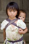 Hmong People, Brothers And Sisters In Laos