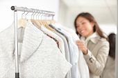 Clothing - Woman Shopping Clothes
