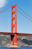 Постер, плакат: Мост Золотые ворота Сан Франциско