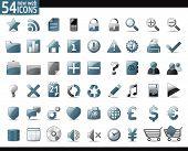 image of home is where your heart is  - 54 Cold Gray Web Icons for your internet sites - JPG