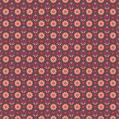Elegant romantic vector seamless pattern (tiling). Retro pink
