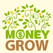 Text Money Grow