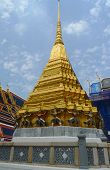 Wat Phra Kaew or Temple of the Emerald Buddha in Grand Palace in Bangkok