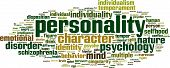 image of personality  - Personality word cloud concept - JPG