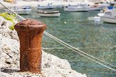foto of bollard  - Tourist village - JPG