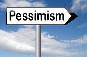 image of bad mood  - pessimism negative pessimistic thinking bad mood pessimist  - JPG