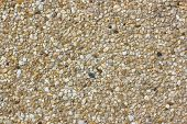picture of wall-stone  - Close up stone wall texture  - JPG