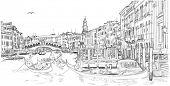 picture of gondolier  - Venice  - JPG