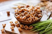 pic of whole-wheat  - whole wheat pasta - JPG