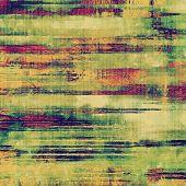 picture of violets  - Art grunge vintage textured background - JPG